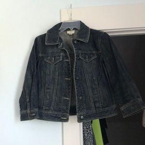 Women's jean jacket size 6